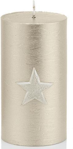 Marble Rustic Kerze »Christmas Star« 4...