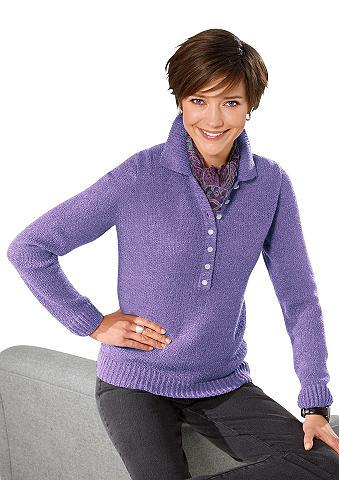 CLASSIC BASICS Megztinis in švelnus Bouclé-Qualität