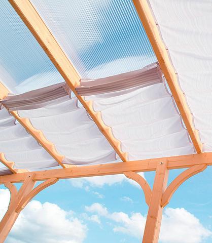 Tentas nuo saulės 622 x 303 cm su 9 Fe...