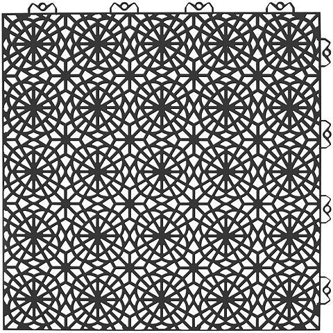 Bergo Flooring Rinkinys: plastikinės plytelės »XL« su...
