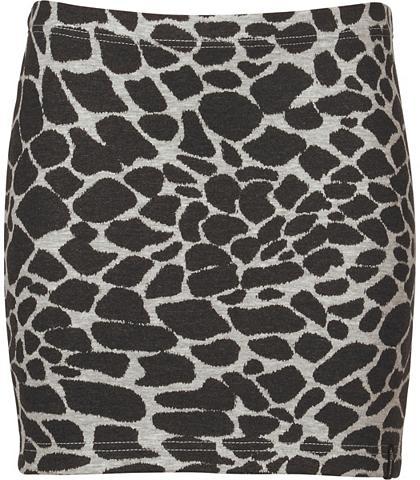 TRIGEMA Kurzer Pieštuko formos sijonas Leopard...