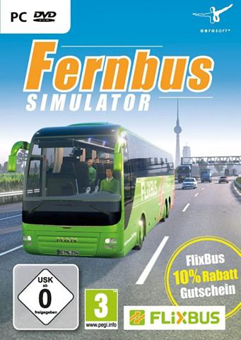 PC - Spiel »Der Fernbus Simulator«