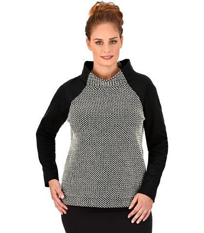 Stehkragen-Sweater