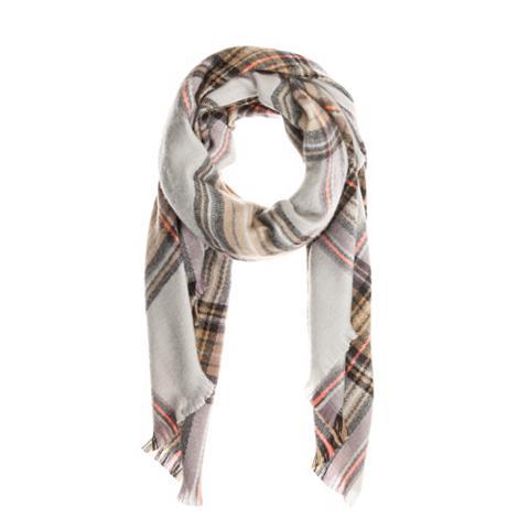 Plaid-Schal su Karo-Muster