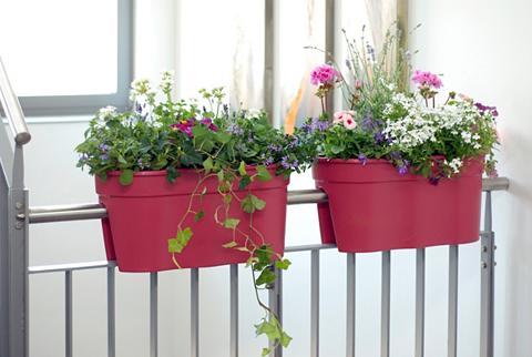 KHW Rinkinys: Vazonas gėlėms »Flowerclip X...
