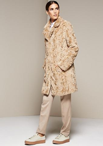 Subtilus paltas iš kuscheligem Fake-Fu...