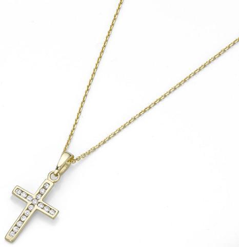 FIRETTI Grandinėlė su pakabukas »Kreuz«