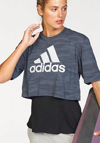 Marškinėliai »BOXY CROP Marškinėliai A...