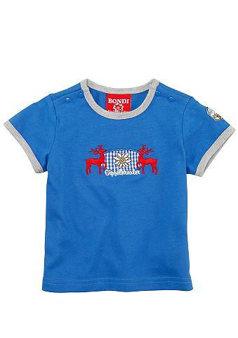 Marškinėliai Kinder su elnio motyvas