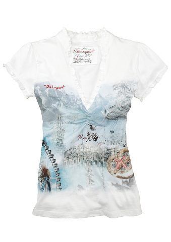 Marškinėliai Moterims in taillierter f...