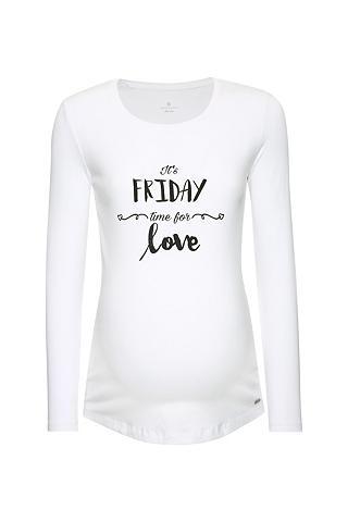 Marškinėliai nėščioms su Motiv raštas