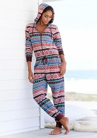 Bench. Jumpsuit su buntem Norwegermuster