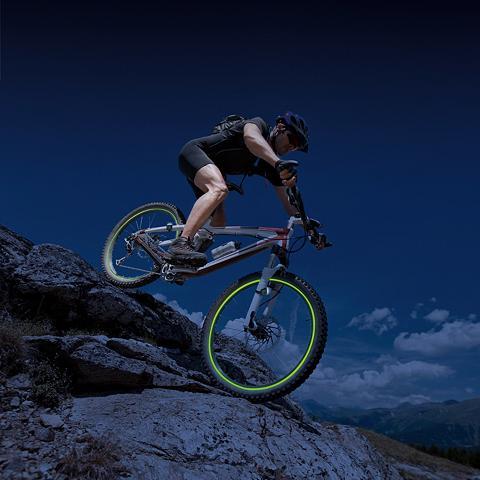 Fahrrad-Leuchtstreifen 5tlg. rinkinys ...