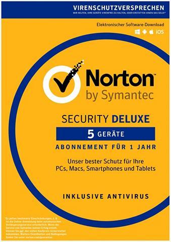 NORTON Security Deluxe 3.0 »1 Benutzer 5 Gerä...