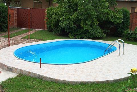 Ovalus baseinas 490 x 300 x 110 cm 7-t...