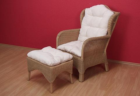 HOME AFFAIRE Pintas fotelis (be kojų kėdutė)