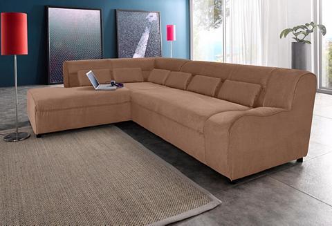Kampinė sofa su Kojų kėdutė patogi su ...