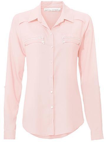 ASHLEY BROOKE by Heine Marškiniai su rankovės zum užraitytas