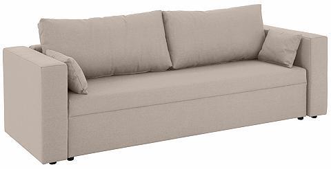 HOME AFFAIRE Trivietė sofa »Pur« patogi su miegojim...
