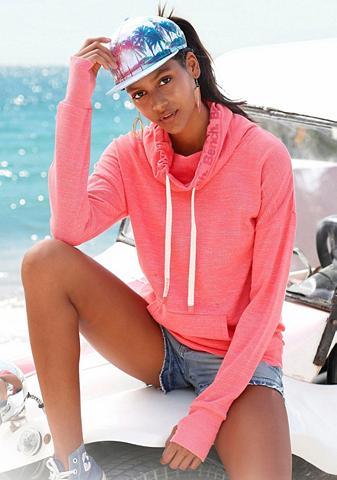 BENCH. Sportinio stiliaus megztinis su apykak...