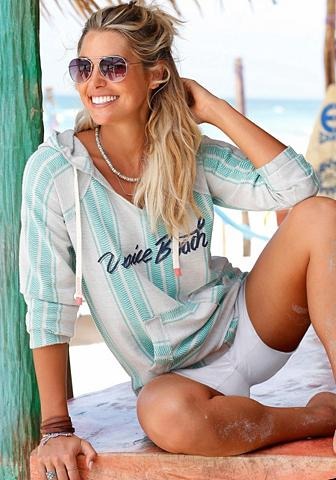 VENICE BEACH Sportinis megztinis su gobtuvu