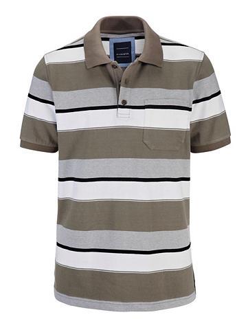 Polo marškinėliai su užsėgama kišenė