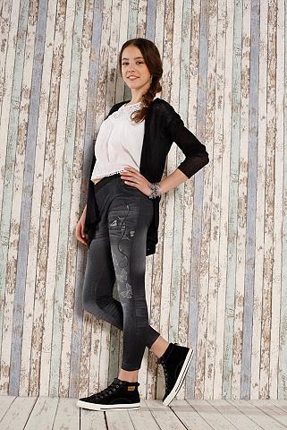 BUFFALO Tamprės mergaitėms in džinso imitacija...