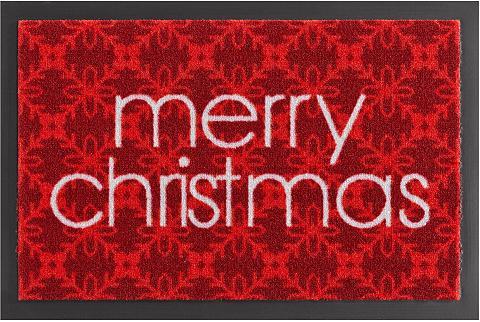 HANSE HOME Durų kilimėlis »Merry Christmas« recht...