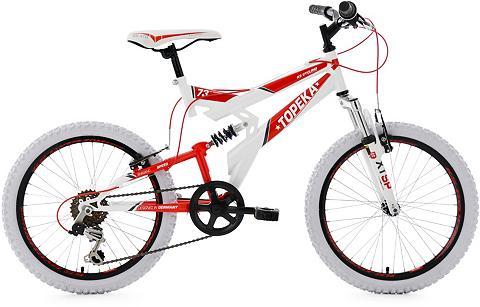 KS CYCLING Vaikiškas dviratis 20 Zoll weiß-rot Sh...