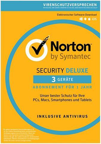 NORTON Security Deluxe Antivirus Software 201...