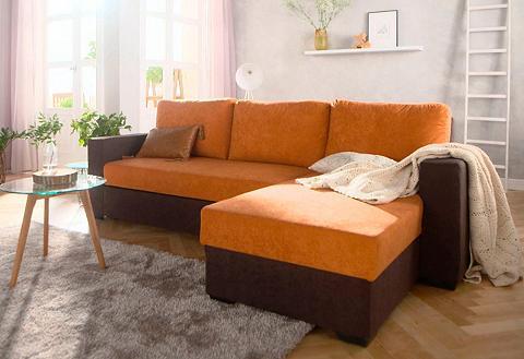 Kampinė sofa »Dublin« patogi su miegoj...