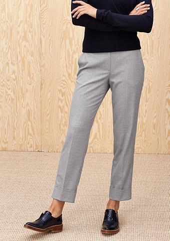 Margas flanelinės kelnės su užraitymas...