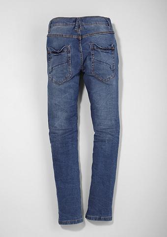 Aptempti Seattle: Crinkle-Jeans dėl Ju...