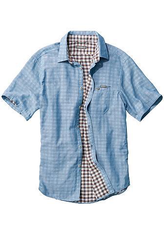 Doppellagiges marškiniai trumpomis ran...