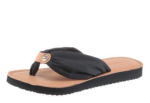 Tommy Hilfiger »LEATHER FOOTBED Beach SANDAL« Šlepetė...