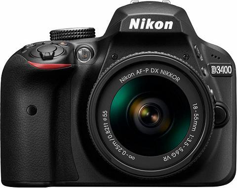 NIKON D3400 Kit AF-P 18-55 VR fotoaparatas K...
