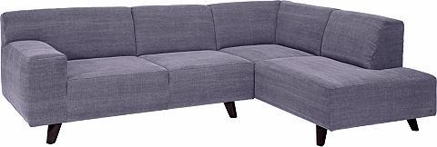 Kampinė sofa su Kojų kėdutė »NORDIC PU...