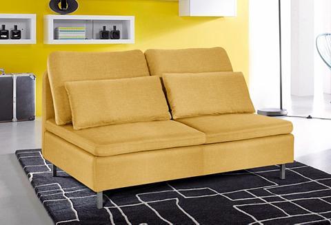 Dvivietė sofa be porankiais