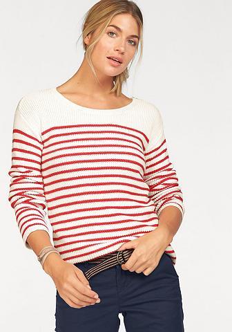Tom Tailor Polo marškinėliai Team dryž...