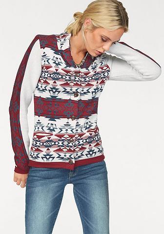 Žakardinis megztinis »Ethno-Muster«