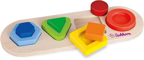 Holzpuzzle »3D Einlegepuzzle«