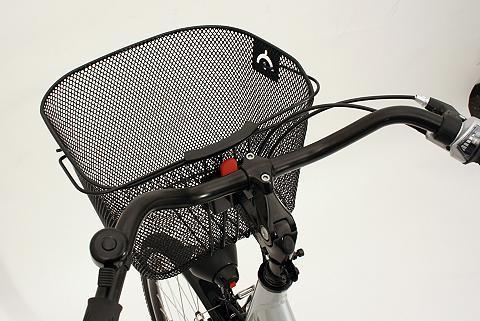 PROPHETE Krepšys dviračiui juoda spalva »City«