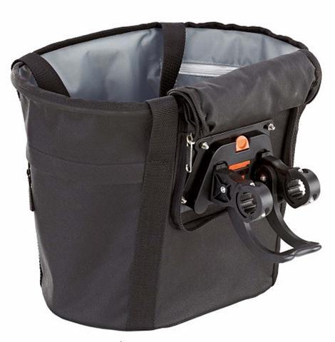 PROPHETE Krepšys dviračiui juoda spalva