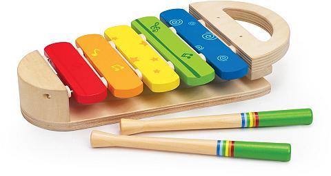 HAPE Muzikinis žaislas iš mediena »Regenbog...