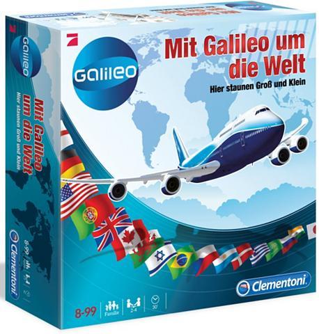 Quizspiel »Mit Galileo aplink die Welt...