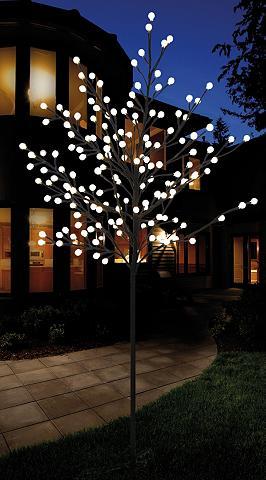 LED medis in unterschiedlichen dydžiai...