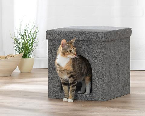 Hundehöhle ir gultas katėms