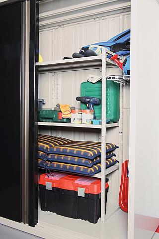 Sandėliavimo lentynos dėl spinta įrank...