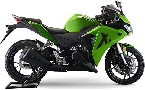 Motorrad 125 ccm 110 km/h 125 PS