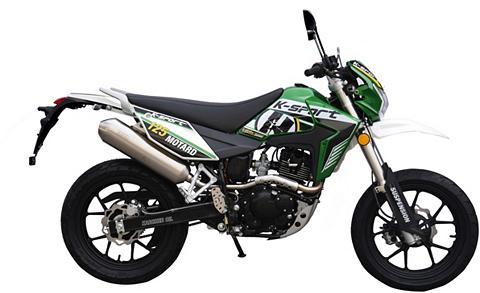 K-SPORT Motociklas 125 ccm 99 km/h 1142 PS »Mo...